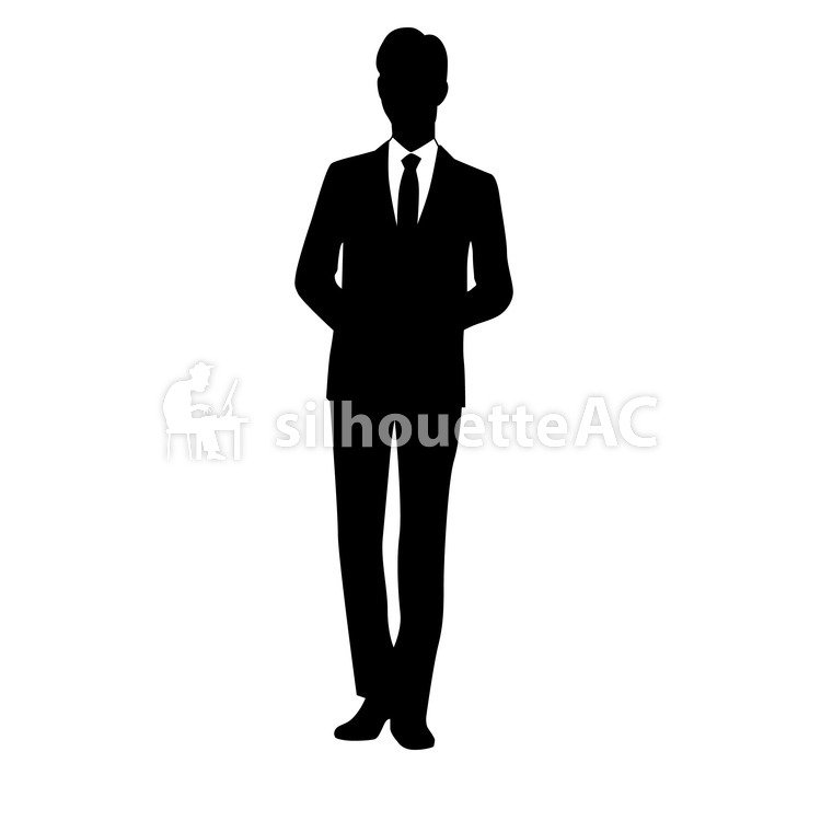 750x750 Free Vector Silhouettes An Illustration, Office, Office Scene