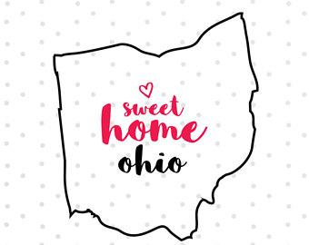 340x270 Ohio Silhouette Etsy