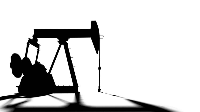852x480 Silhouette Of Oil Pump Pumping Oil In The Oil Field