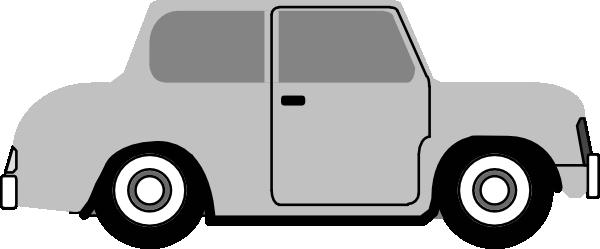 600x249 Cartoon Car Vector Side