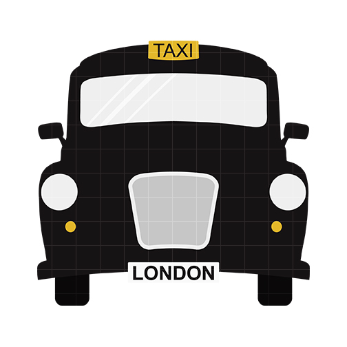 504x504 Taxi Clipart Silhouette