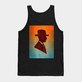 285x285 Old Fashioned Gentleman Silhouette