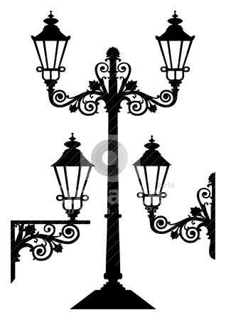 318x450 Lamp Clipart Old Fashioned