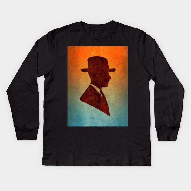 630x630 Old Fashioned Gentleman Silhouette