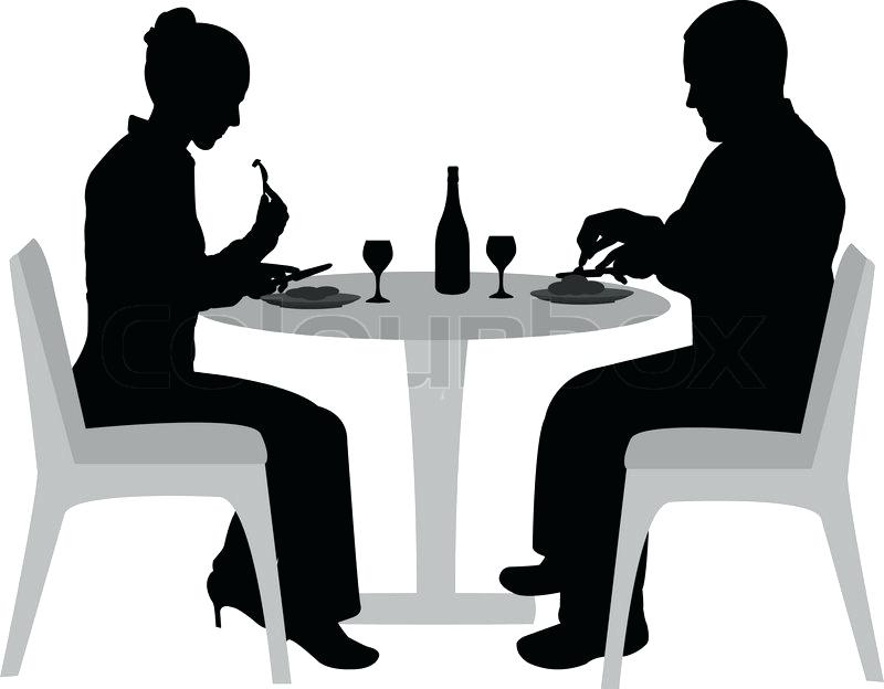 800x624 Dining Silhouette Old Fashioned Silhouettes Dining Celebrity