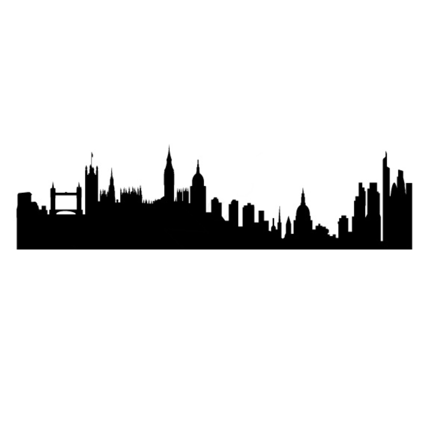 Old London Skyline Silhouette At Getdrawings Com Free