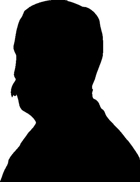 456x593 Man Silhouette Clip Art