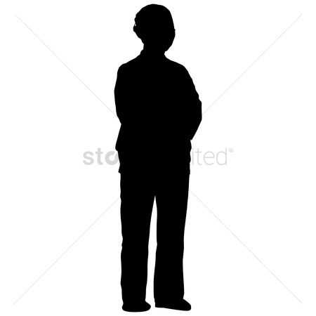 450x450 Free Silhouette Old Stock Vectors Stockunlimited
