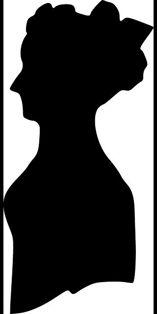 320x640 Head, Old, Black, Profile, Lady, Silhouette, Female