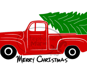 340x270 Christmas Truck Etsy