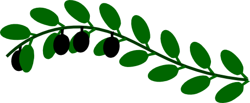 512x212 Olive Branch Clipart I2clipart