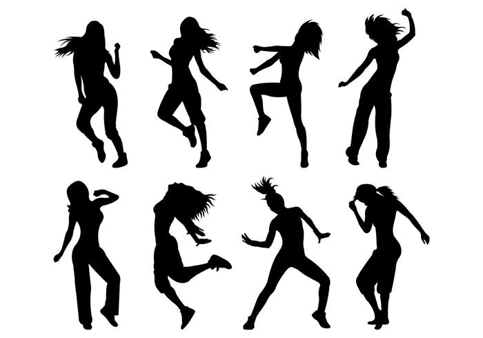 700x490 Zumba Woman Dancers Silhouette