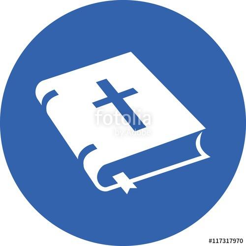 500x500 Bible Old Book Open Holy Christian Faith Icon Sign Symbol Logo