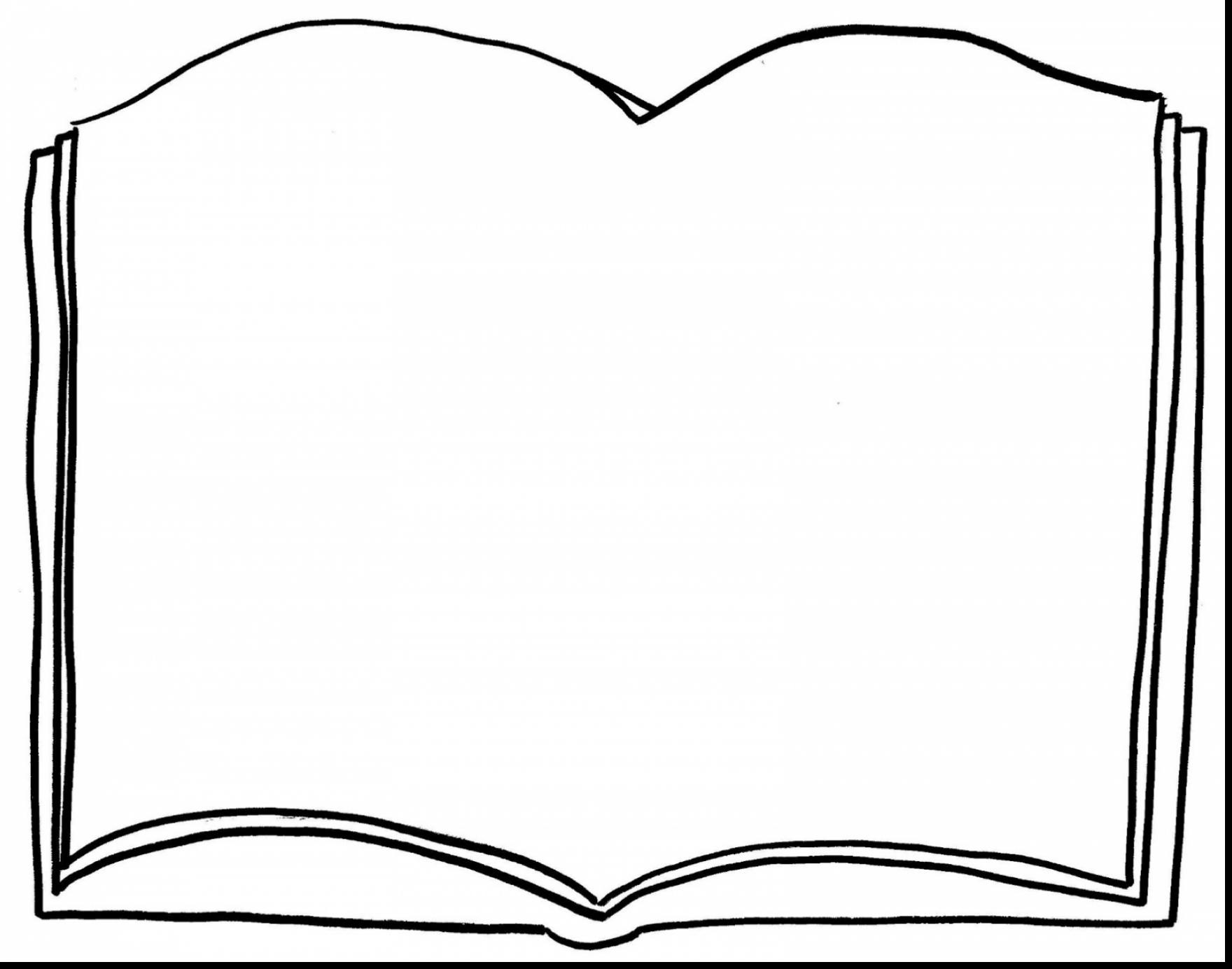1760x1384 Blank Open Book Clip Art Monochrome Silhouette With Open Book