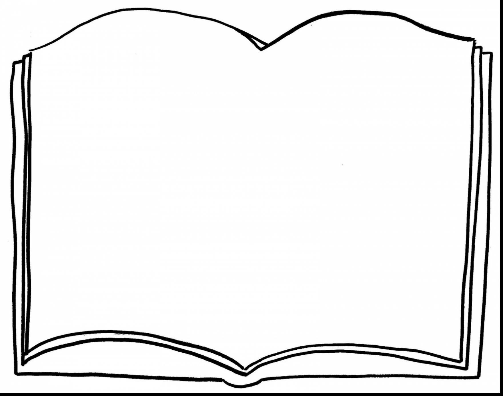 1760x1384 Blank Open Book Clip Art Monochrome Silhouette With Open Book