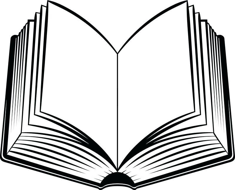800x648 Open Book Coloring Page Open Book Coloring Page Pages Clip Art