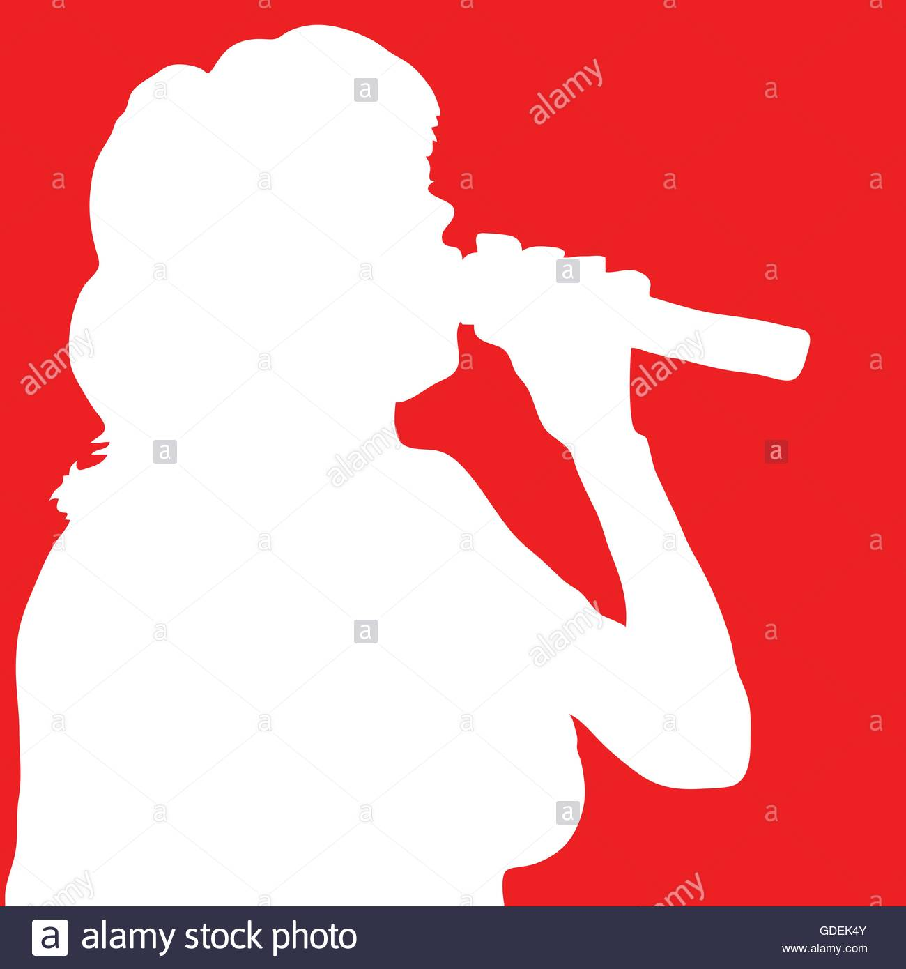 1300x1390 Singer Stock Vector Images