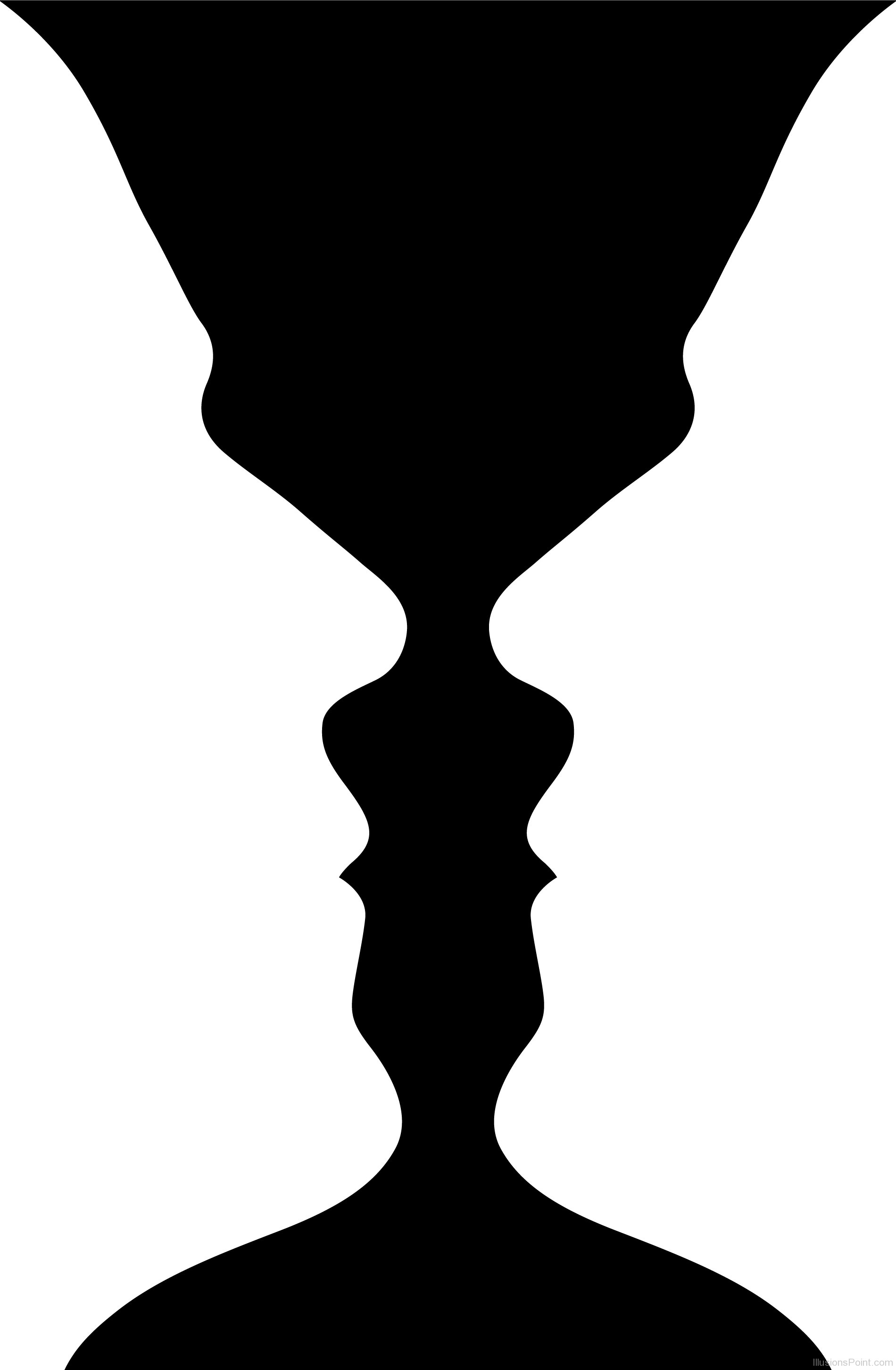 1900x2905 Illusion Vase Or Face