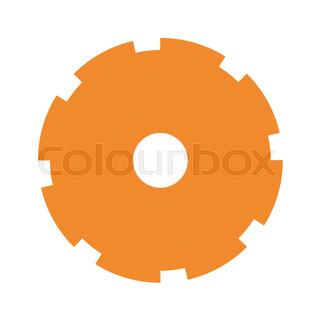 320x320 Silhouette Of City Under The Orange Rainbow Stock Vector Colourbox