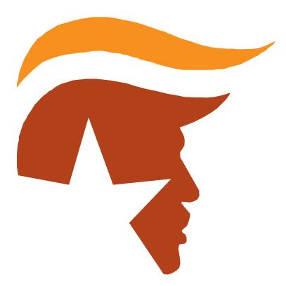 407x408 Trump Silhouette Orange Direxion
