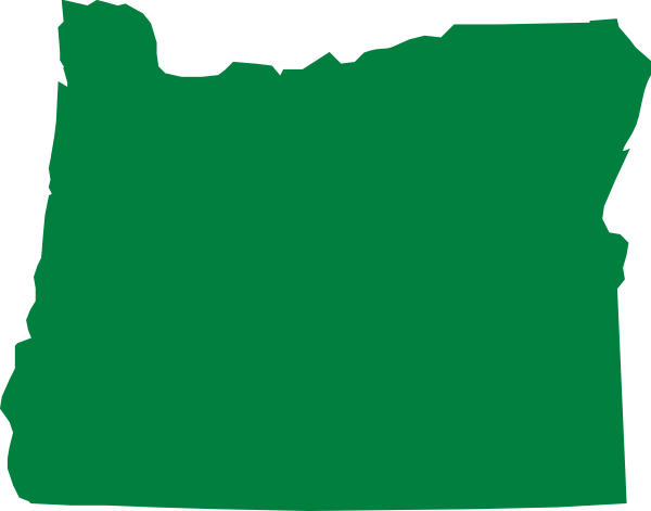 600x471 Oregon Clip Art
