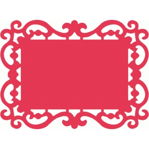 300x300 Silhouette Design Store Fancy Ornate Frame Cricut Projects