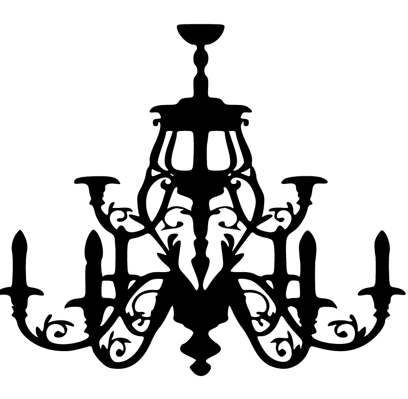 800x783 Ornate Chandelier Svg Silhouettes Free Silhouette