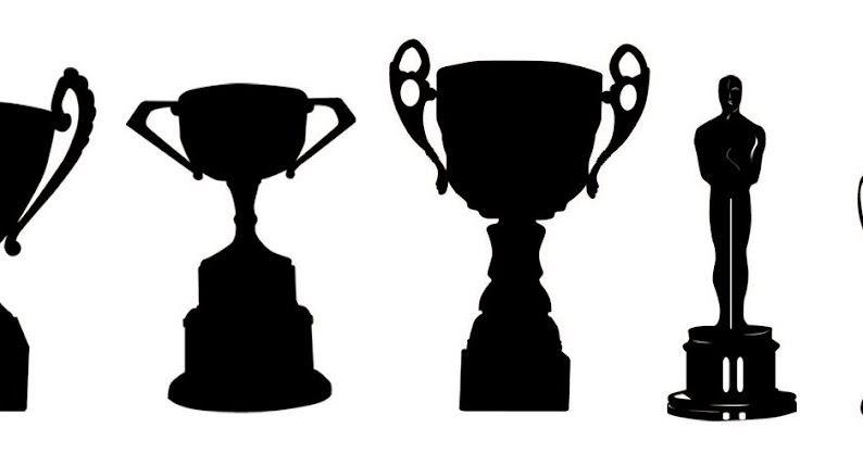 794x417 Free Svg Trophy Oscar Cup Prize Sport Theatre Award Kldezign Les