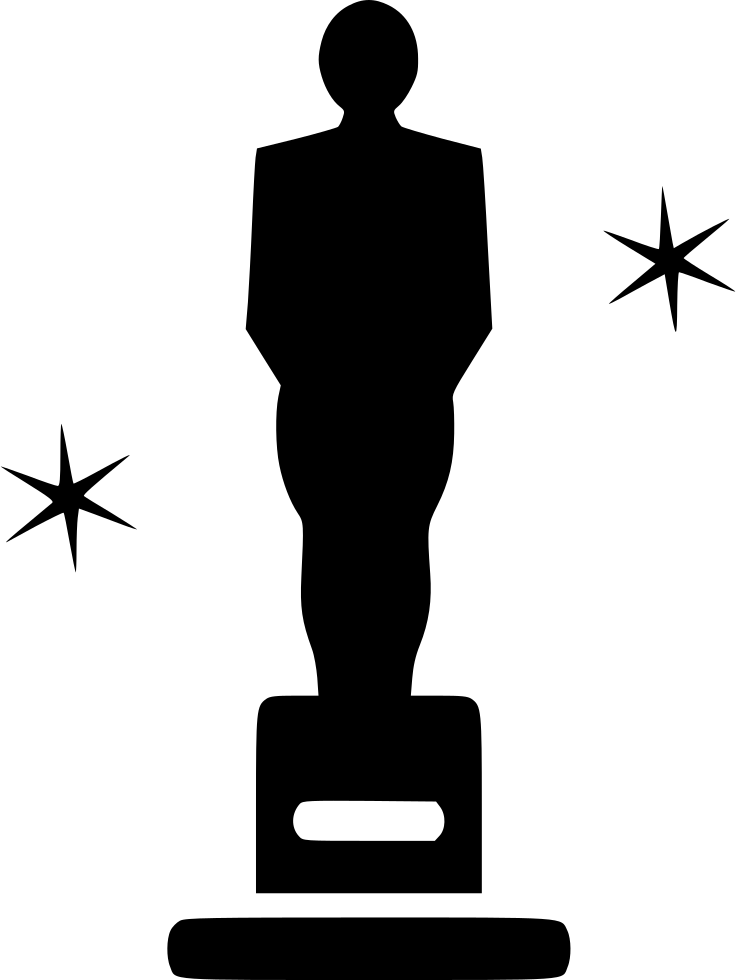 736x980 Oscar Award Ceremony Felicitation Prize Trophy Svg Png Icon Free