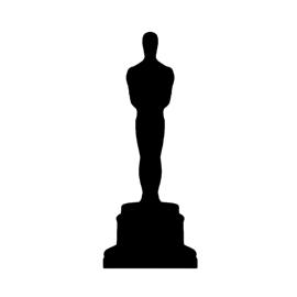 270x270 Oscar Statue Silhouette Stencil Free Stencil Gallery