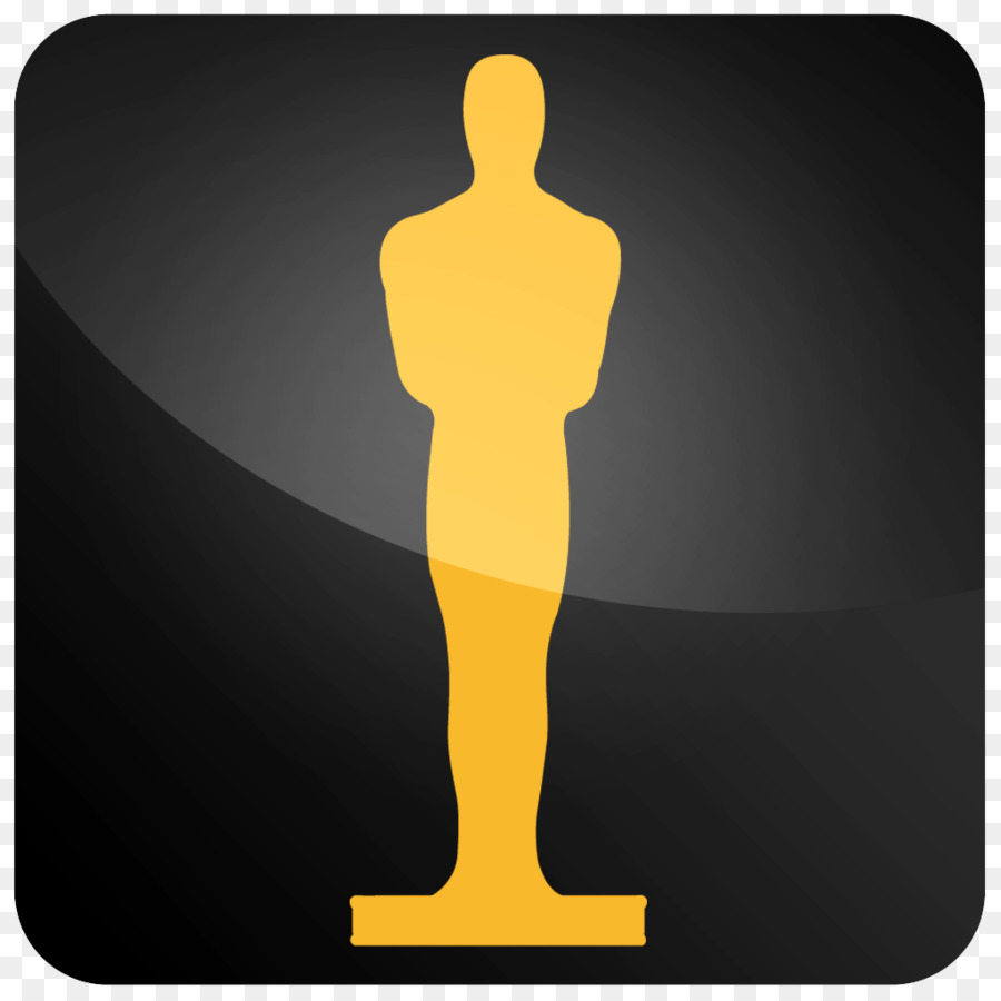 900x900 90th Academy Awards Trophy Clip Art