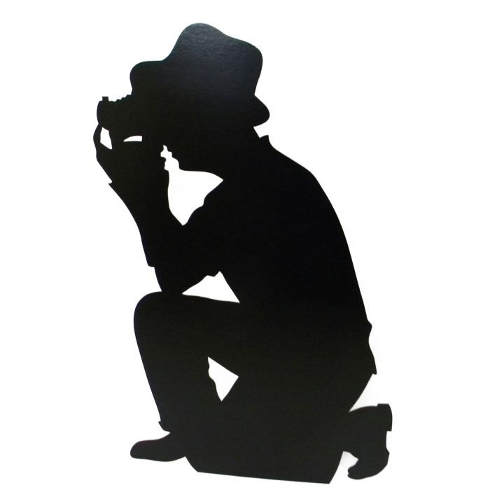 700x700 Figurine Geante Silhouette Paparazzi.jpg Hollywood