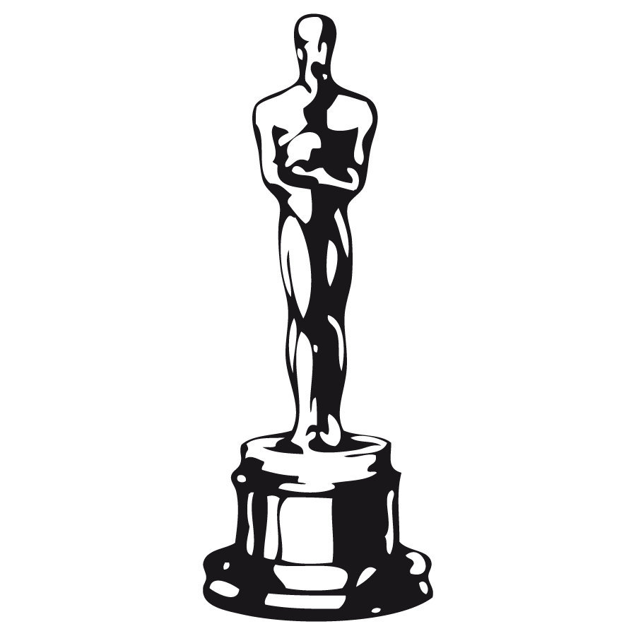 900x900 Oscar Award Silhouette