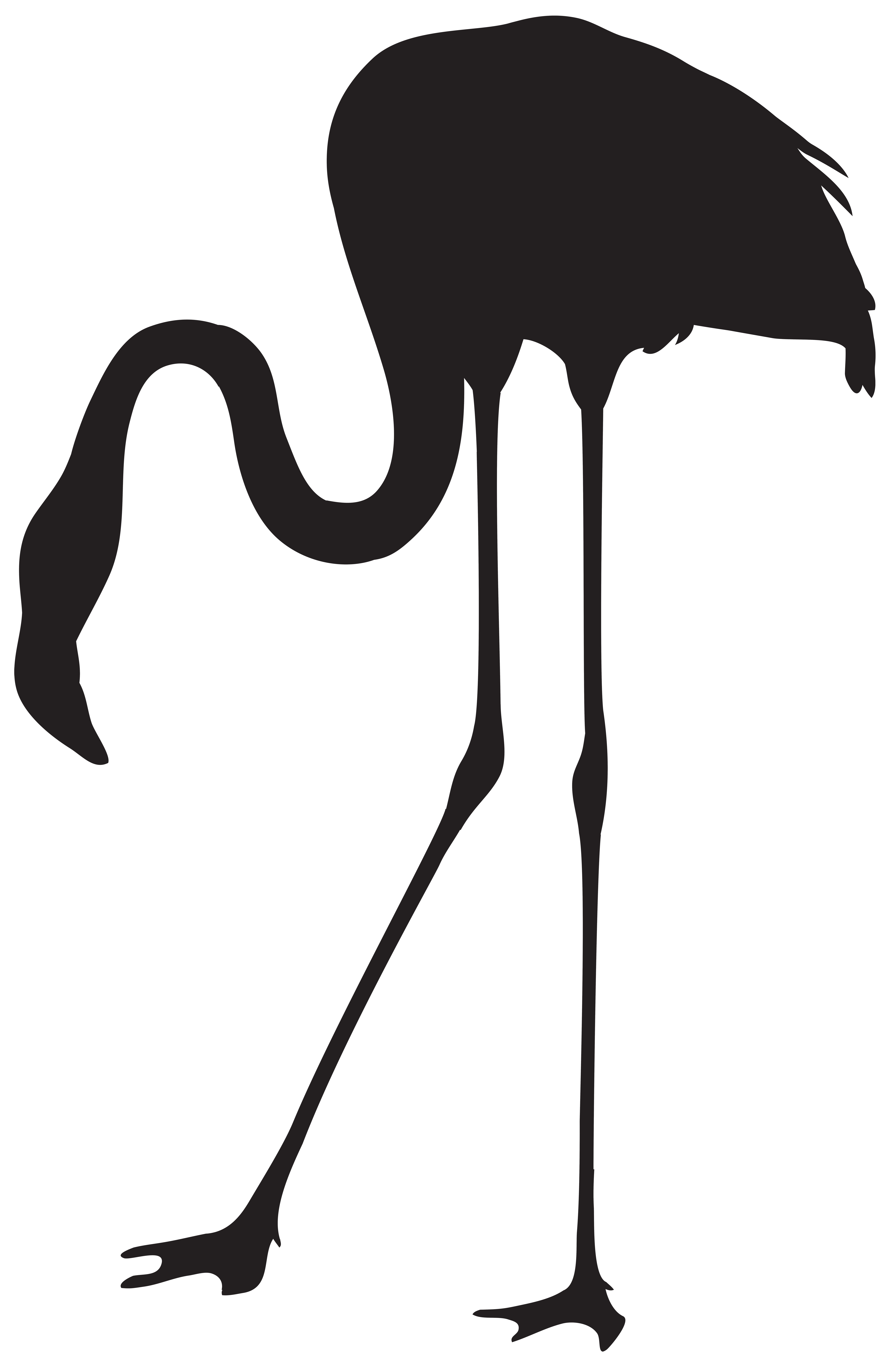 ostrich silhouette at getdrawings com free for personal use rh getdrawings com ostrich clipart free ostrich clipart picture