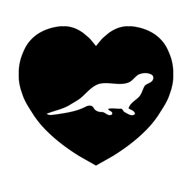 630x630 Otter Love I Heart