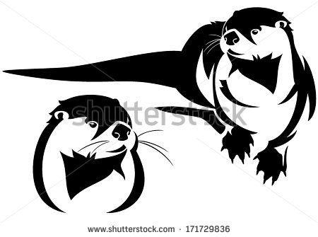 450x335 Otter Symbol Sea Otter Clip Art Free Vector Tattoo Anyone