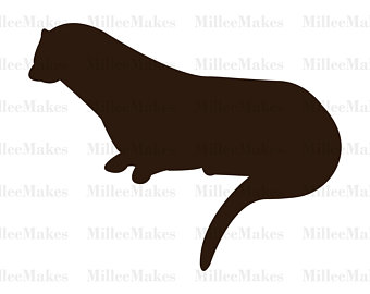 340x270 Otter Art Vector Etsy