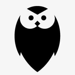 261x261 Owl Silhouette, Owl, Sketch, Animal Png And Vector For Free Download