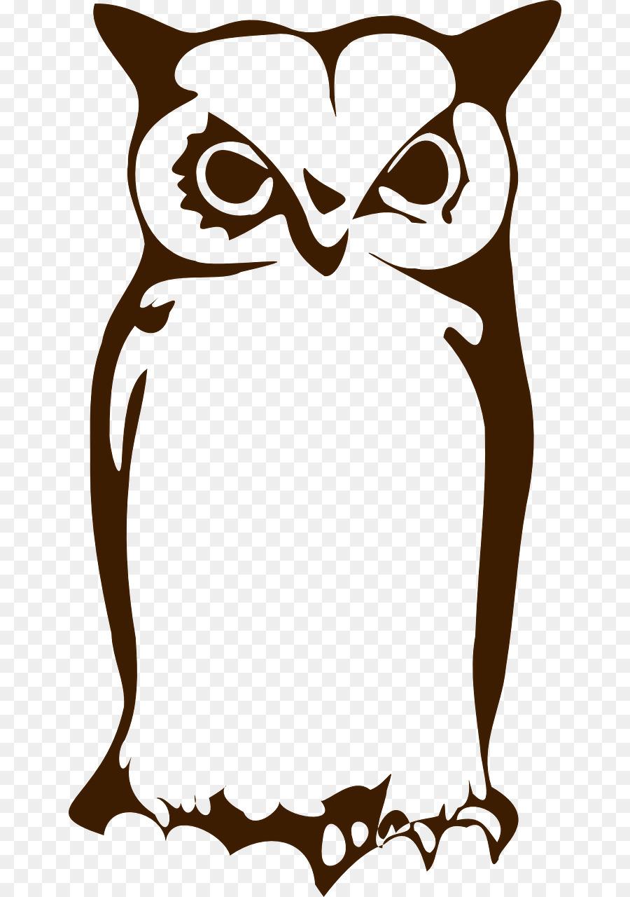900x1280 Owl Silhouette Clip Art