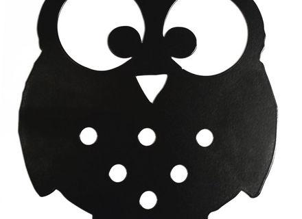 440x320 Reclaimed Barn Wood Wall Art Owl Silhouette In Bare Tree