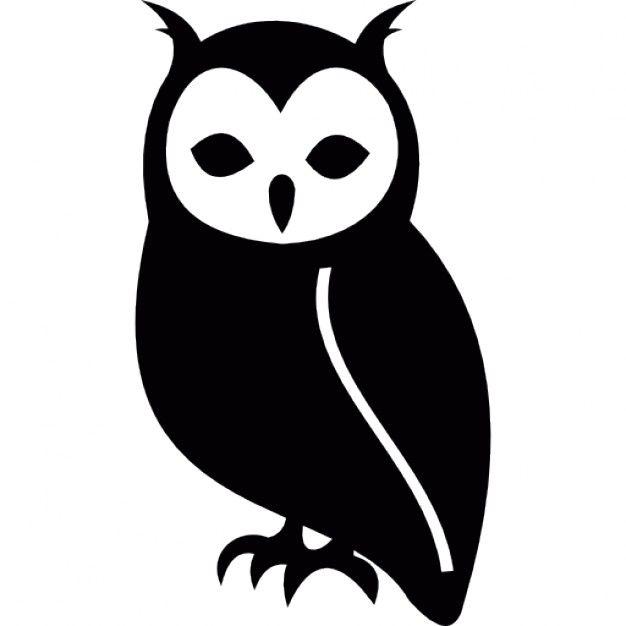 626x626 Coruja, Animal Owl, Stenciling And Silhouettes
