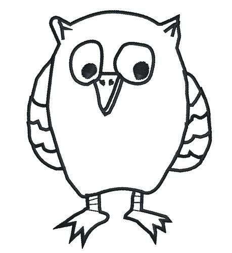 graphic relating to Printable Owl Stencil referred to as Owl Silhouette Template at  No cost for