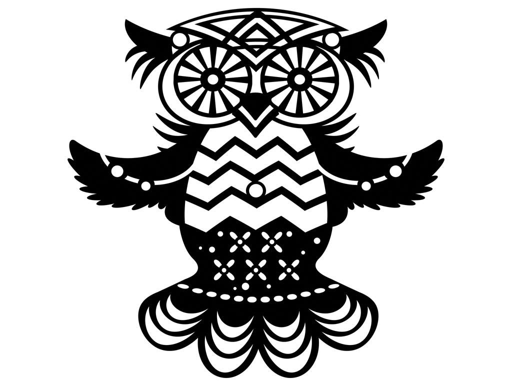 Owl Silhouette Template at GetDrawings.com | Free for personal use ...