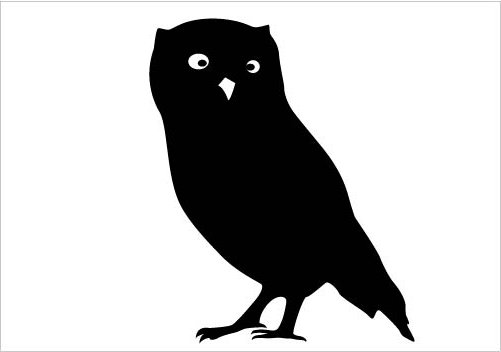 501x352 Owl Clipart Silhouette Many Interesting Cliparts
