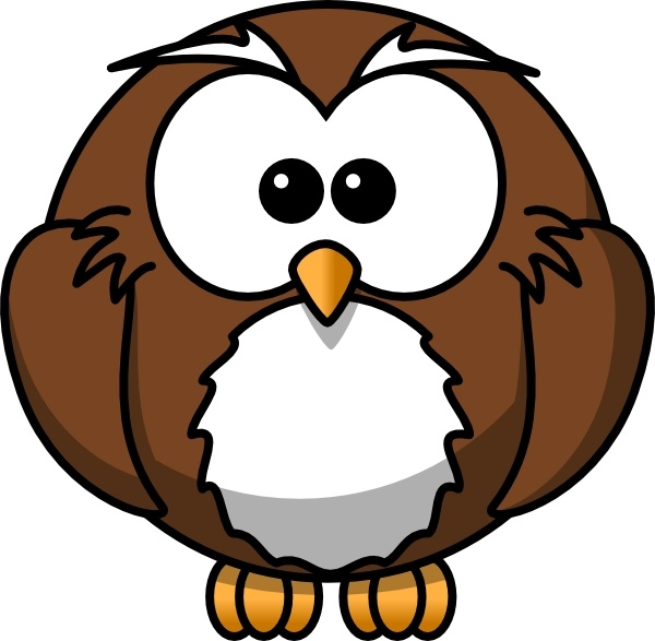 600x587 Cartoon Owl Clip Art Free Vector In Open Office Drawing Svg ( Svg
