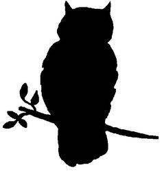 Owl Tree Silhouette