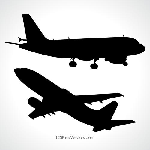 500x500 353 Airplane Free Clipart Public Domain Vectors