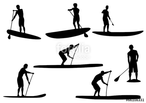 500x354 Sup Silhouettes