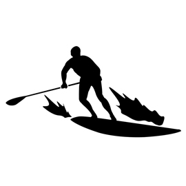 270x270 Stand Up Paddle Board Stencil Free Stencil Gallery