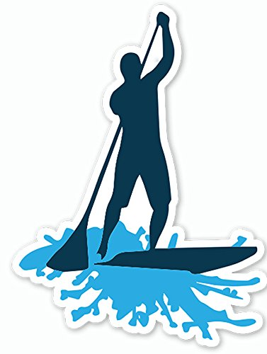 377x500 Stand Up Paddle Board Sup Sticker Decal By Nalu
